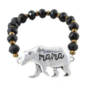Mama Bear Stretch Bracelet